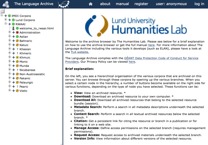 Browse Rwaai Lund University